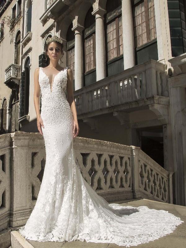 e13a76f16eae Diamond Couture Abito da Sposa Modello Jasmine Sorrisi di gioia